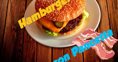 Hamburger con Pancetta 2