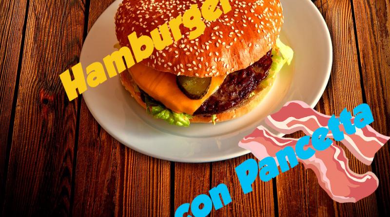 Hamburger con Pancetta 6