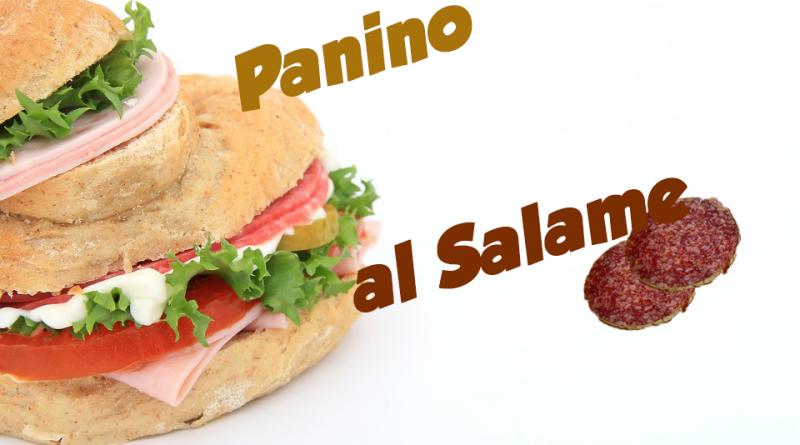 Panino al Salame 3
