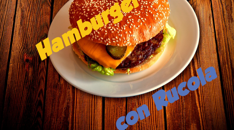 Hamburger con Rucola 1